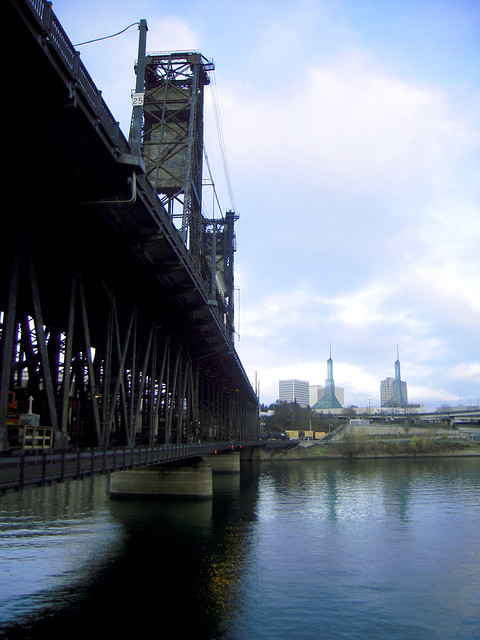 Steel Bridge and the Convention Center