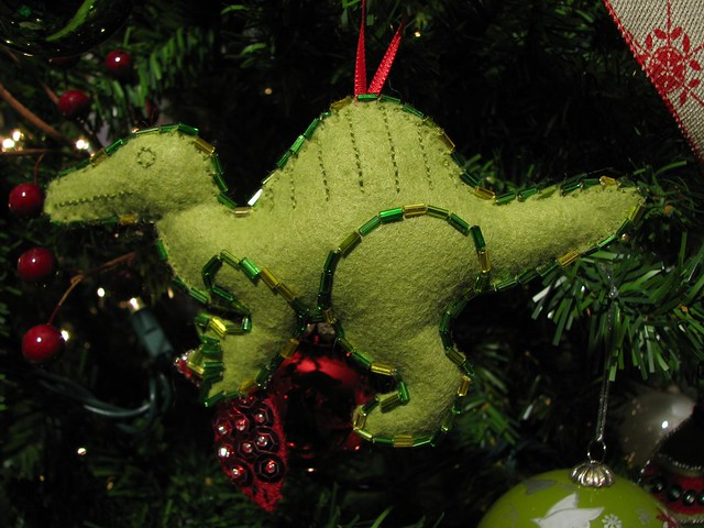 Christmas Spinosaurus