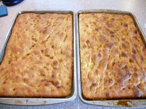 Done! Hello, Moravian Sugar Cake!