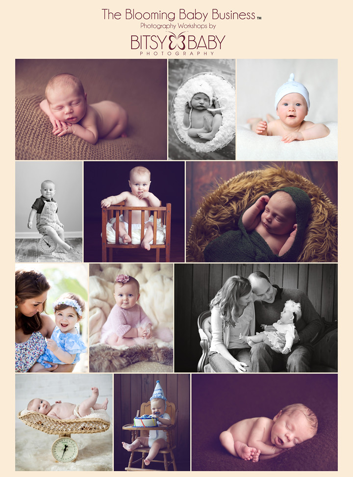 Baby photography workshop flyer
