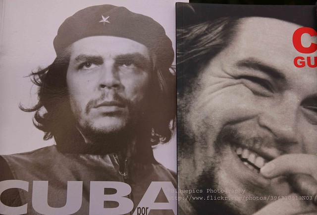 Havana, Che Guevara on book covers