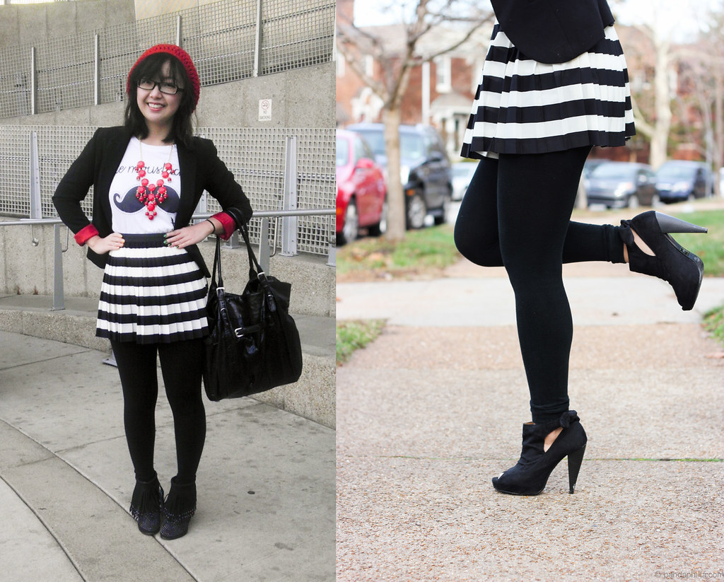 full outfit leg pop