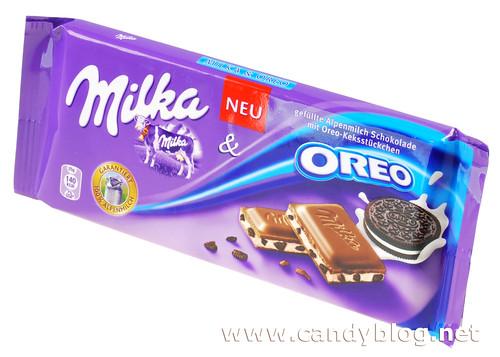 Milka und Oreo