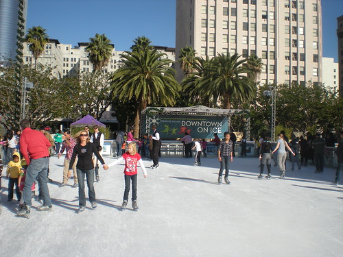 Downtown on Ice
