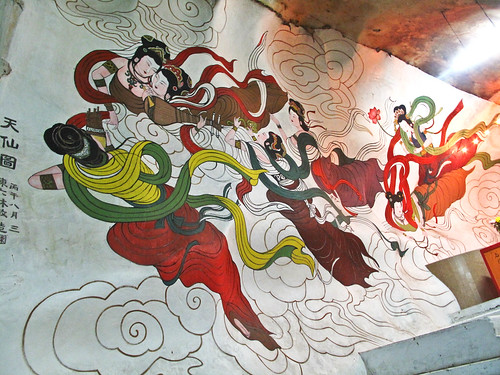IMG_0063 怡保霹雳洞壁画,Mural from Perak Cave,Ipoh
