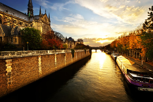 paris france sunrise notredame goldenhour daybreak seineriver jasonarney