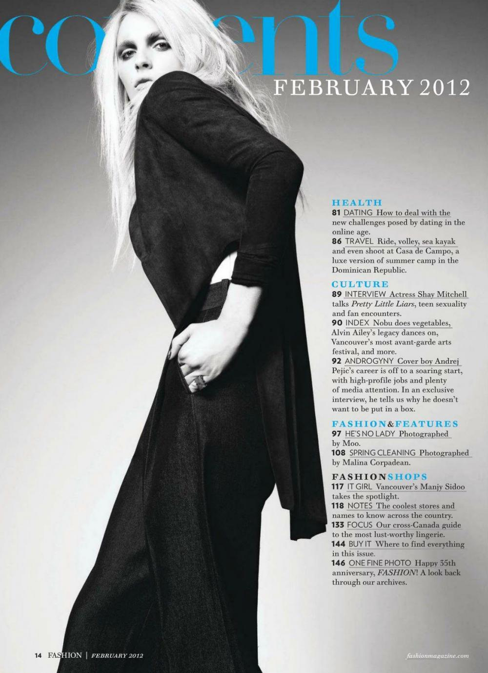 Andrej Pejic0534_Fashion Magazine Canada February 2012