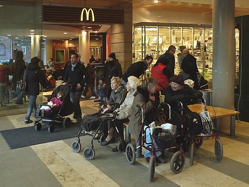 Utanför McDonalds