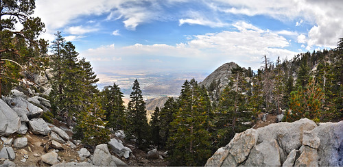 Panorama of Palm Springs From San Jacinto Mountains