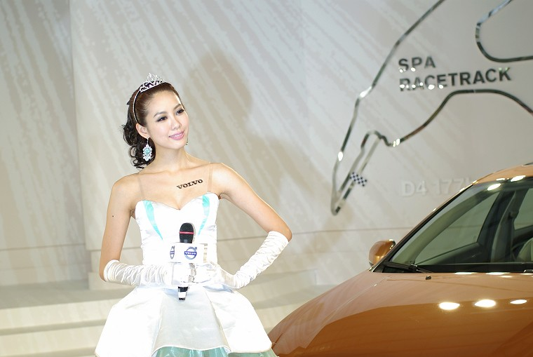 2011年初的台中車展