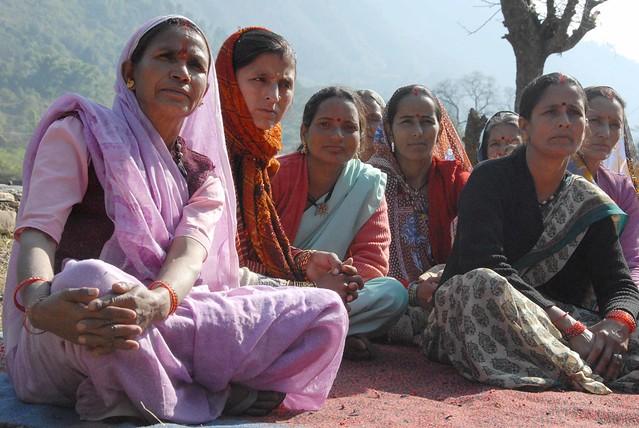 Women farmers in Jukanoli village, Uttarakhand
