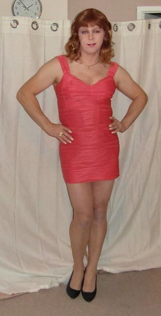 pink dress 3 ( crossdresser )