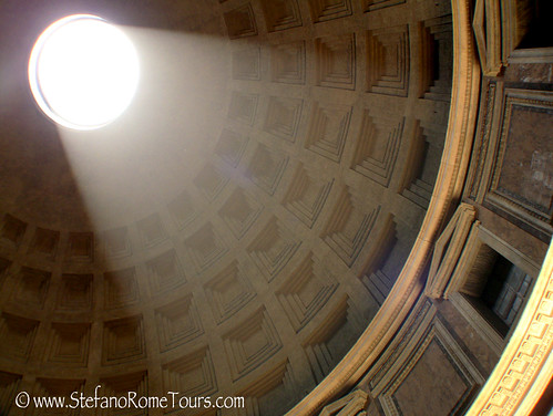 Pantheon - Dome at Summer Solstice