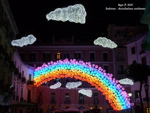 Salerno - Arcobaleno notturno