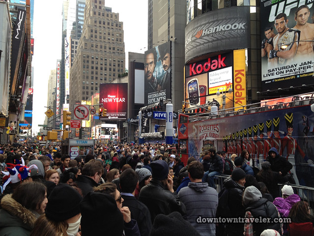 NYC Times Square New Years Eve 2012_Crowds 2