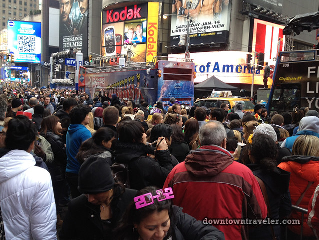 NYC Times Square New Years Eve 2012_crowds 4