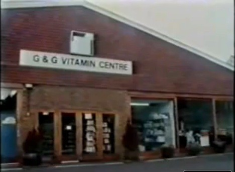 G & G Vitamin Centre 1987  - from http://youtu.be/HTNntFUhrw0