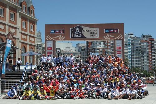 Foto familia Dakar 2012