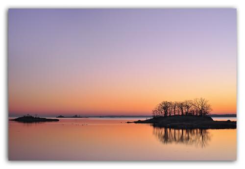 sunrise serenity pelham carlzeiss hunterisland carlosmolina nikond3x carlosmolinaphotography distagont50mmf14 january12012