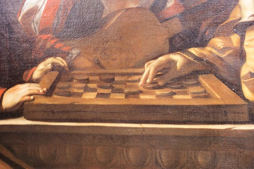 Game of Draughts - detail