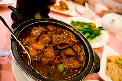 Chinese's beef stew