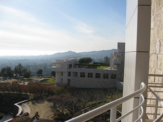 The View Across the Getty