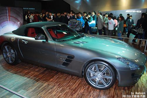 Benz SLS AMG Roadster(4)