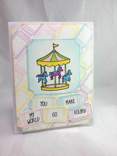 Carousel You make my world...
