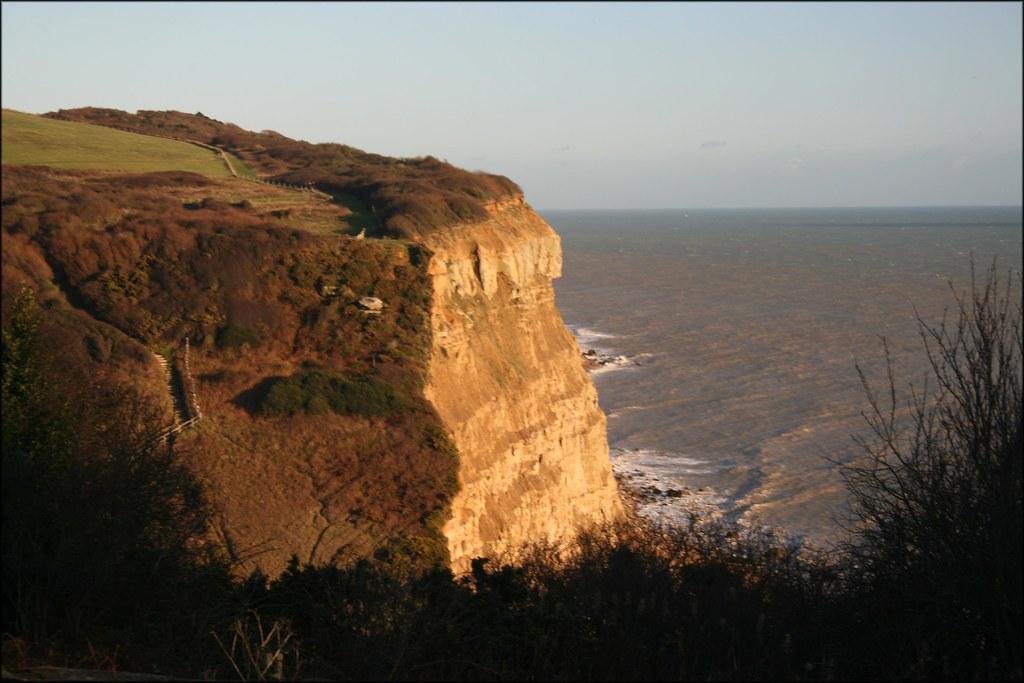 The coast east of Hastings Hastings, East Sussex