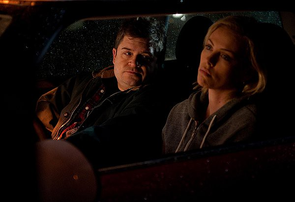 Patton Oswalt and Charlize Theron meet in the middle of arrested development in YOUNG ADULT.
