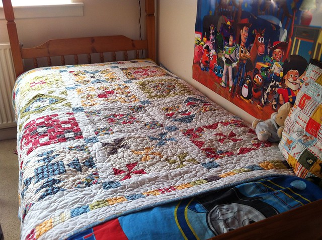 Block a Palooza Quilt in it's rightful place :)