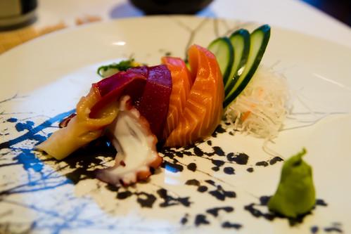 Sashimi at Inatei