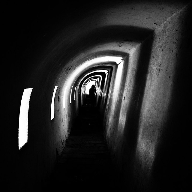 End of the tunnel, par Franck Vervial
