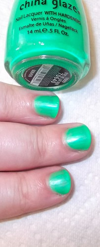 China Glaze: In The Lime Light