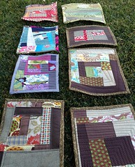 Mini quilts by libby dibby