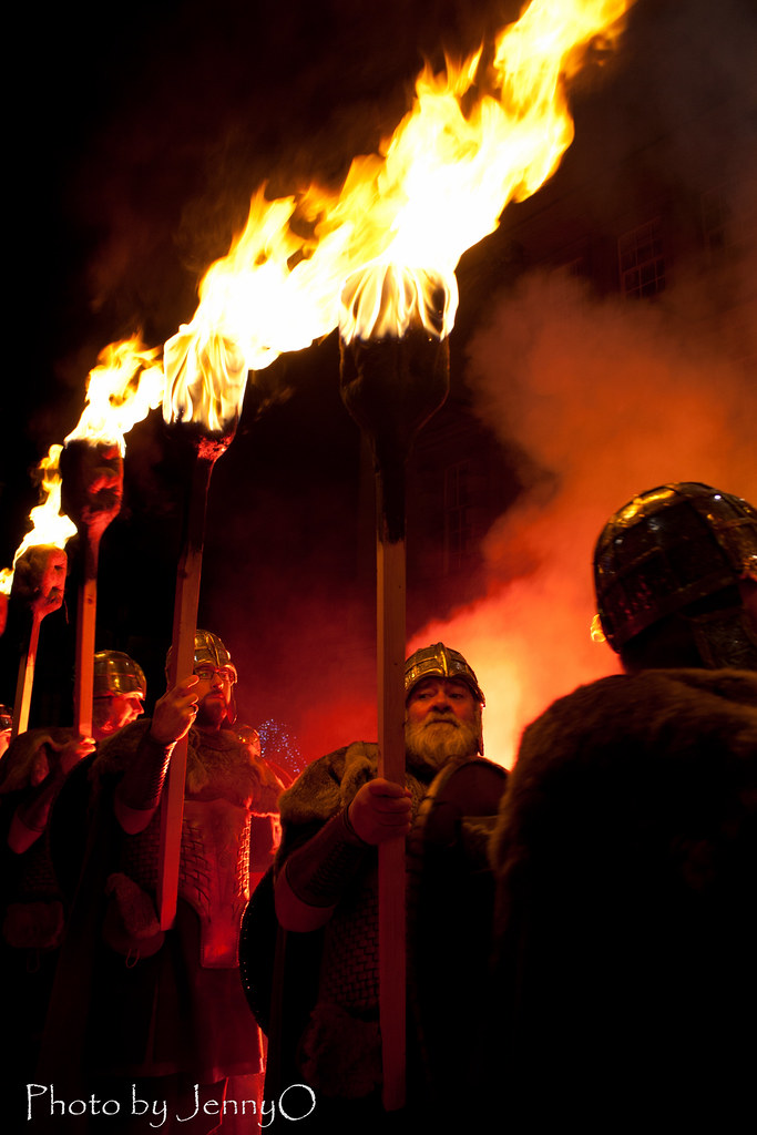 Vikings Light Torches