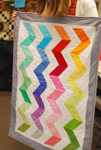 Jennifer's Kona quilt