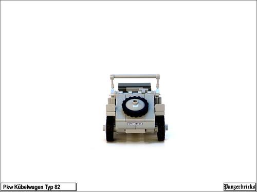 Kübelwagen de Panzerbricks