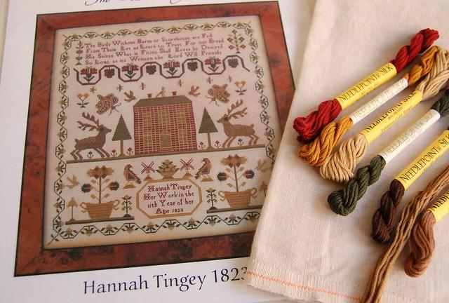 Hannah Tingey 1823