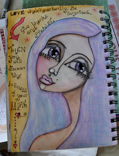 Art Journal 2012 page