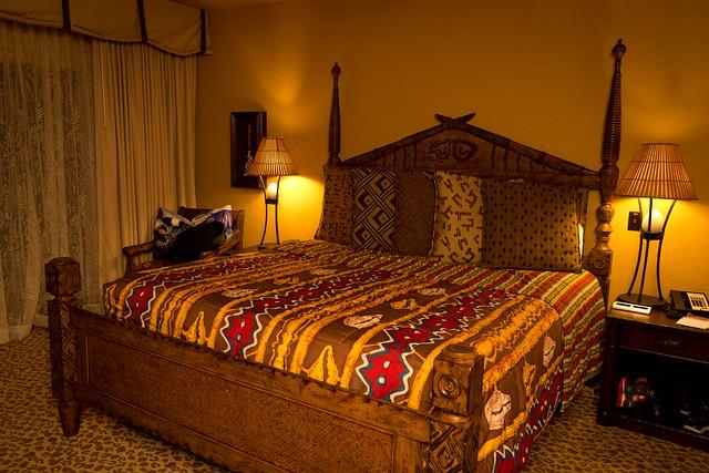 Bedroom in the Kidani Village Villa