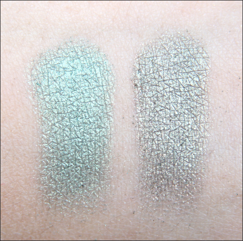 green glam swatch