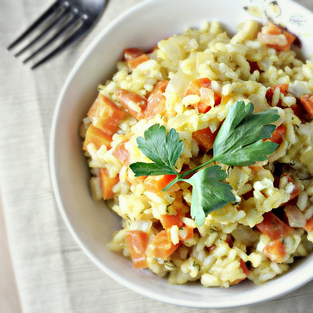 Risotto with Carrots and Feta…Eat.Live.Be.