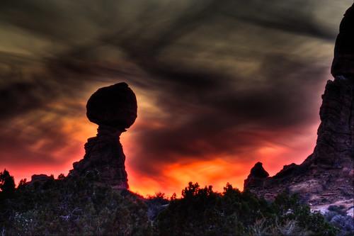 park arches national moab balancedrock