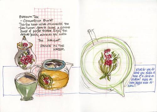 Summer! J07SA_08 T2 Blossom Tea Osmathus Burst