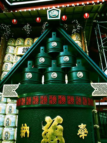 浅草寺 天水桶