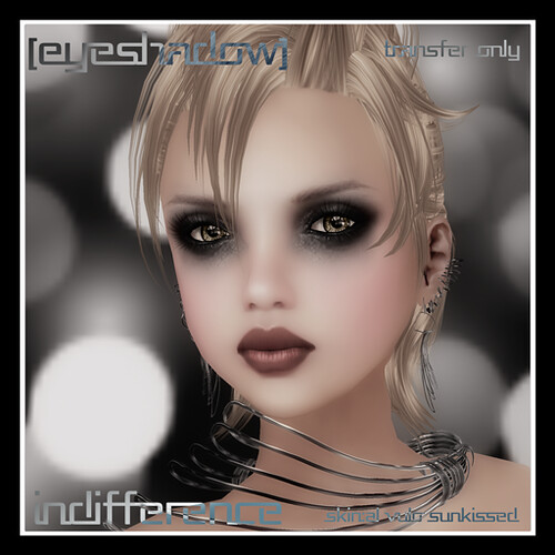 Indifference Eyeshadow @ [mock] cosmetics by Mocksoup