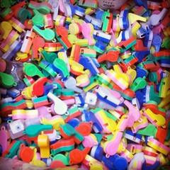 Plastic Whistles & Empty Vials