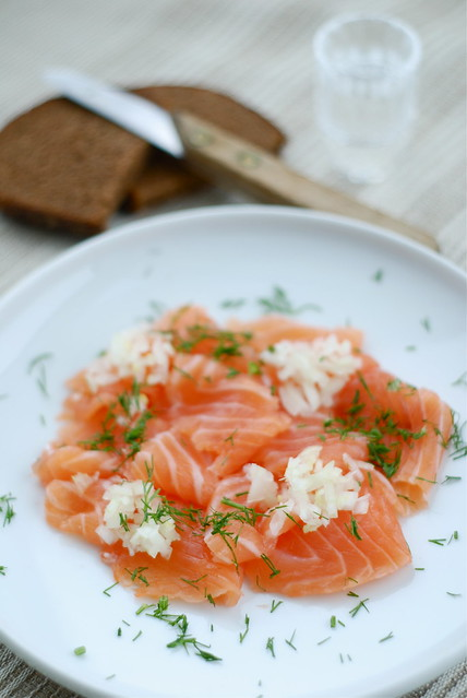 graavilõhe viinaga/vodka-cured salmon