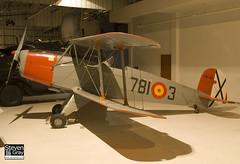 E.3B-521 - Spanish Airforce - CASA 1.131E Jungmann - 080203 - RAF Museum Hendon - Steven Gray - IMG_7313
